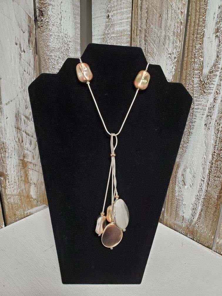 Silver & Bronze Necklace