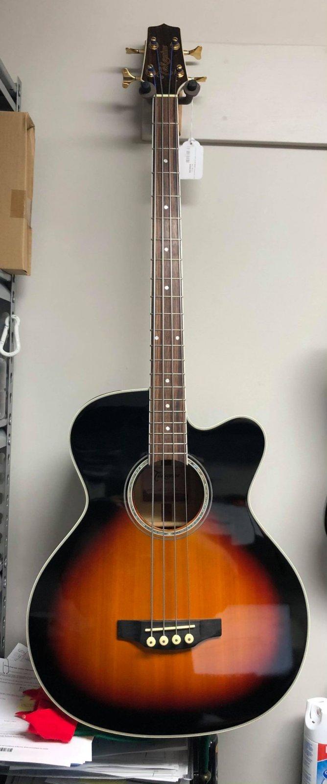 Takamine GB72CE BSB G Series Jumbo Cutaway Acoustic/Electric Bass - USED