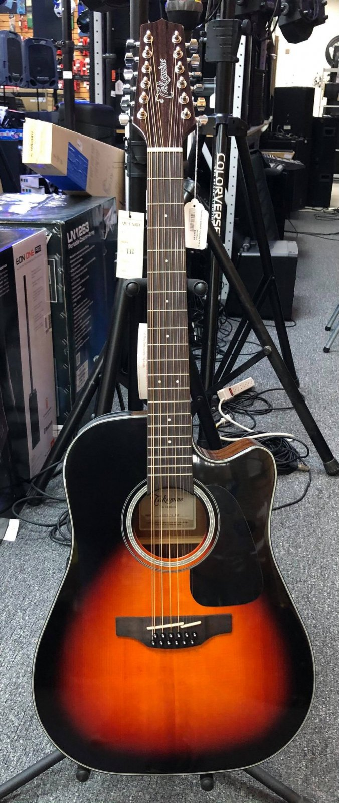 TAKAMINE GD30CE-12 String BSB - No Bag