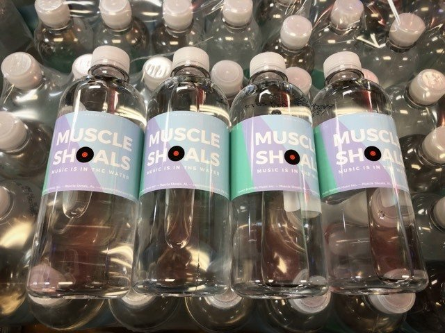 Muscle Shoals Water - Case of 24 bottles