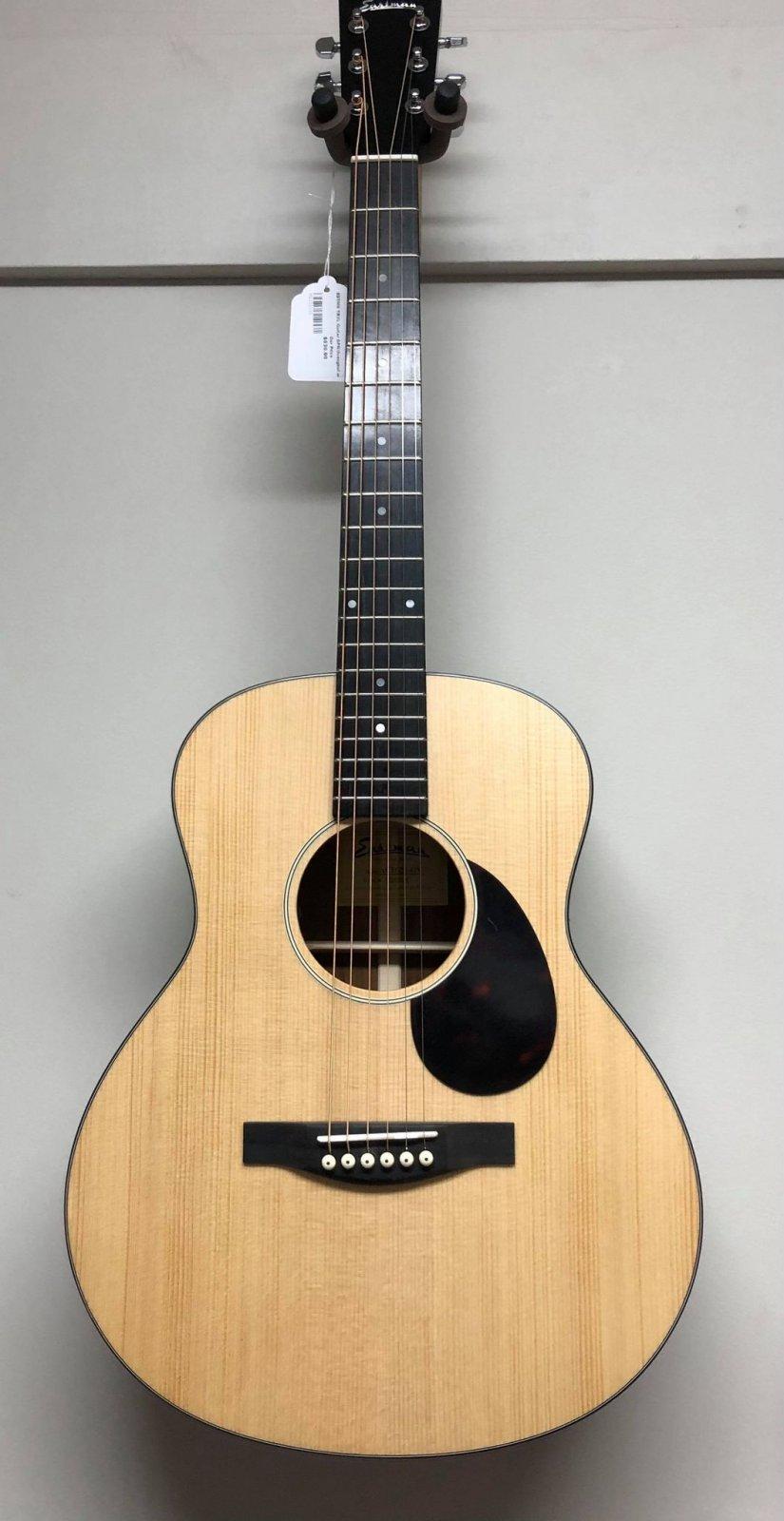 Eastman ACTG2E-OV Acoustic/Electric  Travel Guitar w/Bag