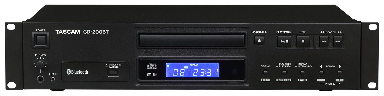 Tascam 200BT CD player w bluetooth