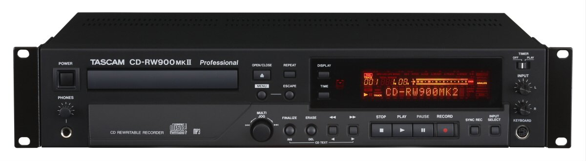 TASCAM CDRW900MK2 CD/Rcdr