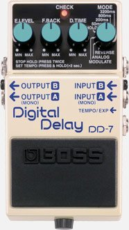 Boss Pedal Digital Delay 7