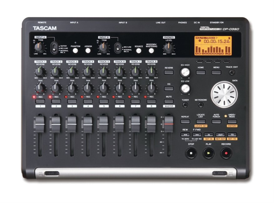 Tascam DP-03SD 8ch Digital Portastudio