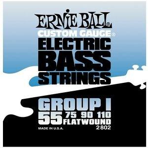 E.Ball Flatwound Bass 55-110