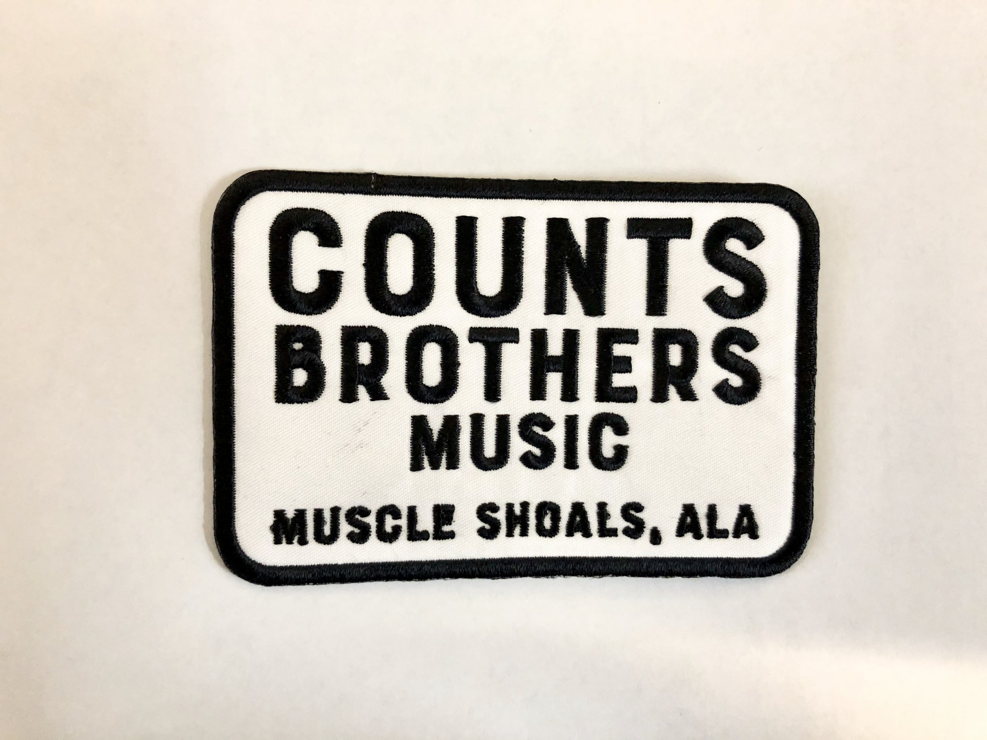 Counts Brothers Music Patch Iron On