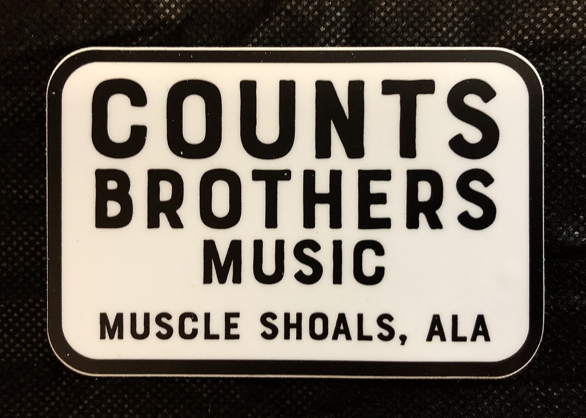 Counts Brothers Music Sticker