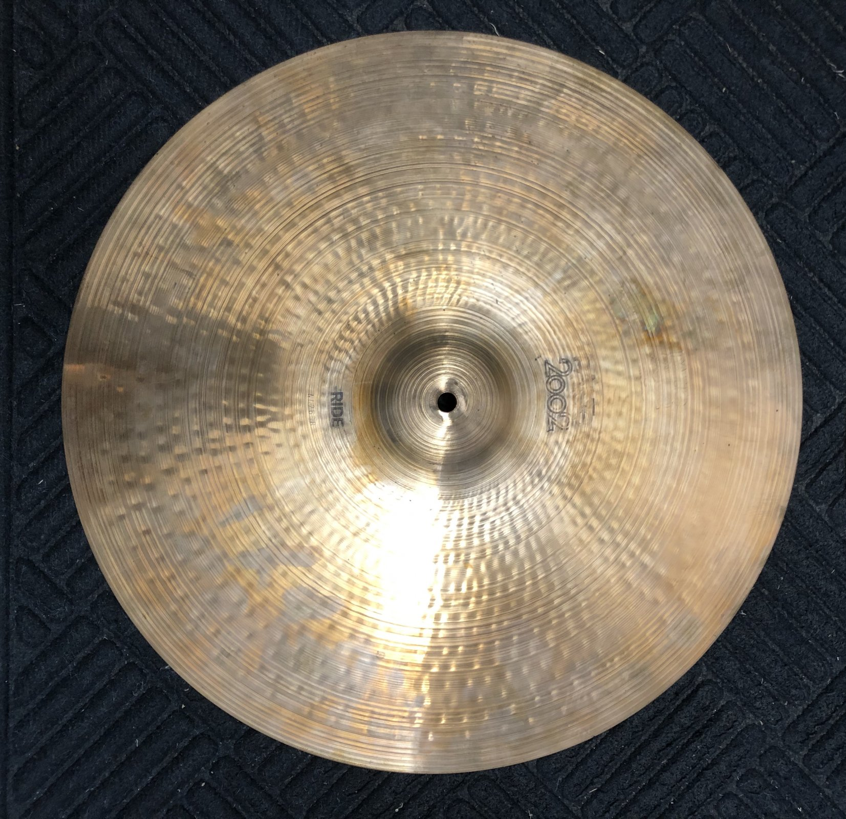 Paiste 20 2002 Ride Cymbal 1970s Traditional with Black Label