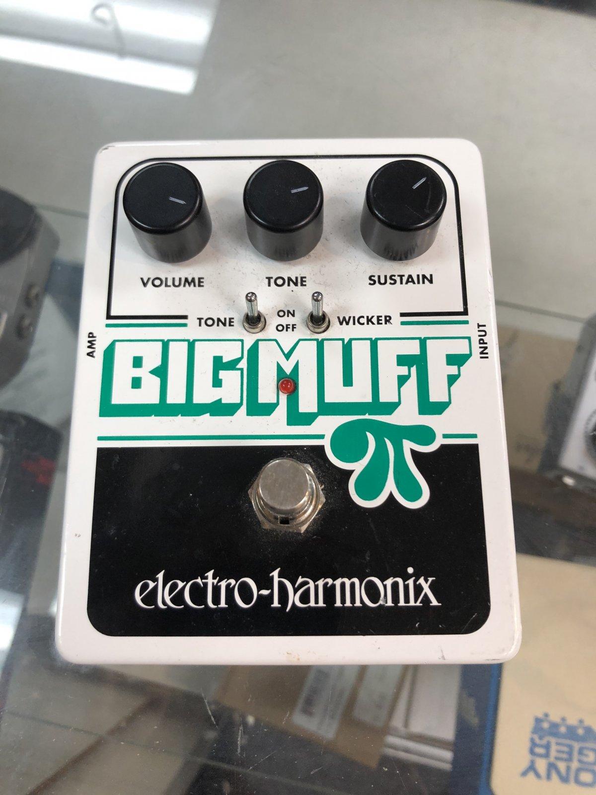 USED Electro-Harmonix Big Muff with Tone Wicker