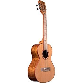 Kala Solid cedar Acacia Tenor ukulele
