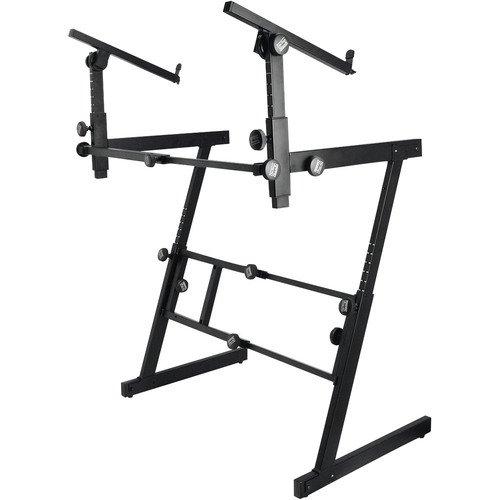 On Stage KS7365EJ Folding-Z Keyboard Stand w/ 2nd Tier