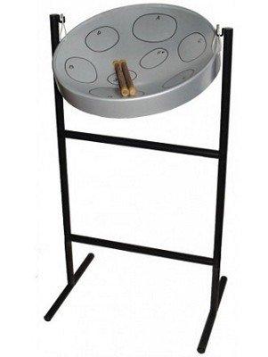 Panyard Jumbie Jam Steel Drum Ready-To-Play Kits With Tube Floor Stand