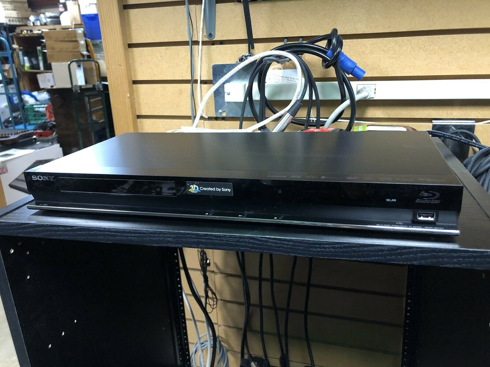 USED Sony BDP-BX57 Blu-ray Player CD W/ Remote