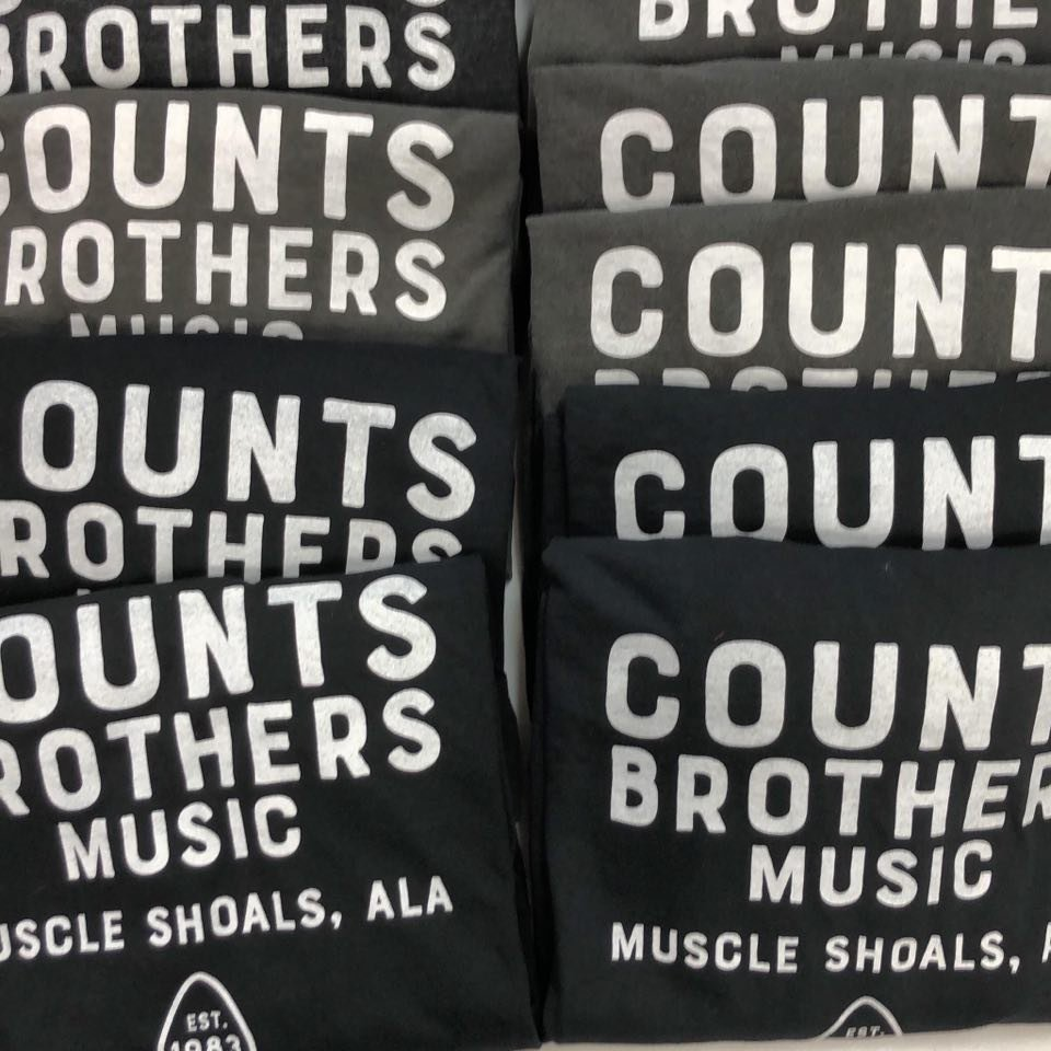 Counts Brothers Music T-Shirt S-XL