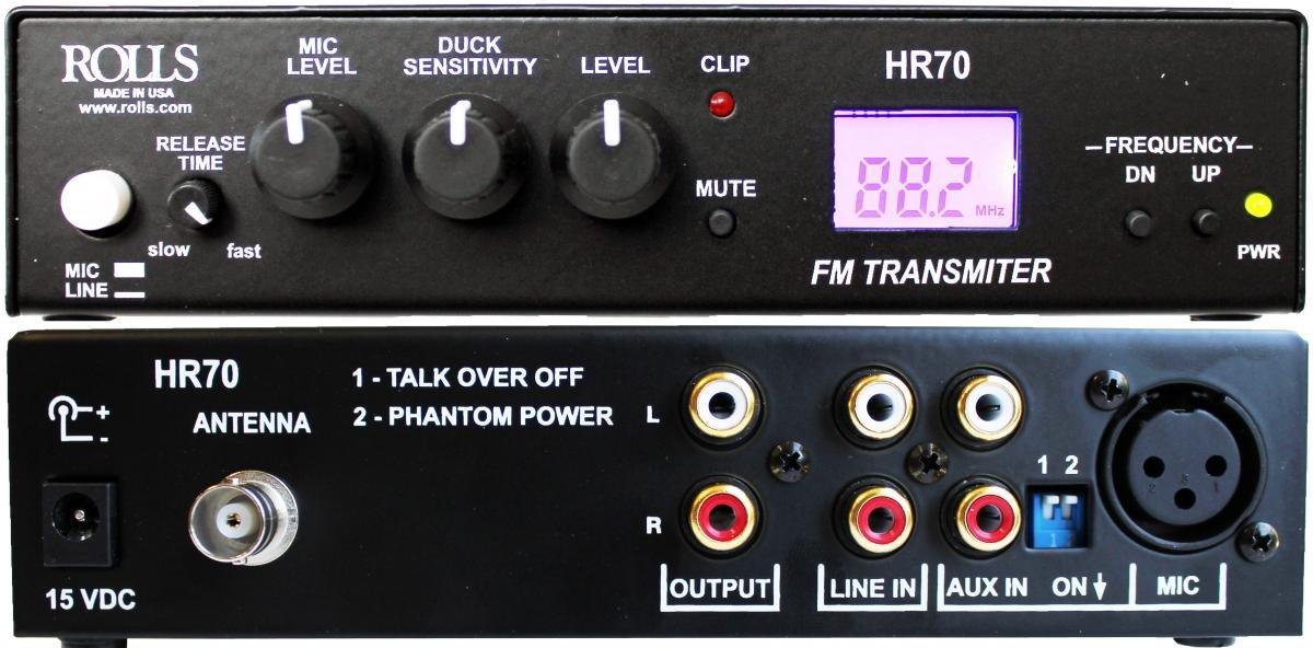 Rolls HR70 FM Transmitter