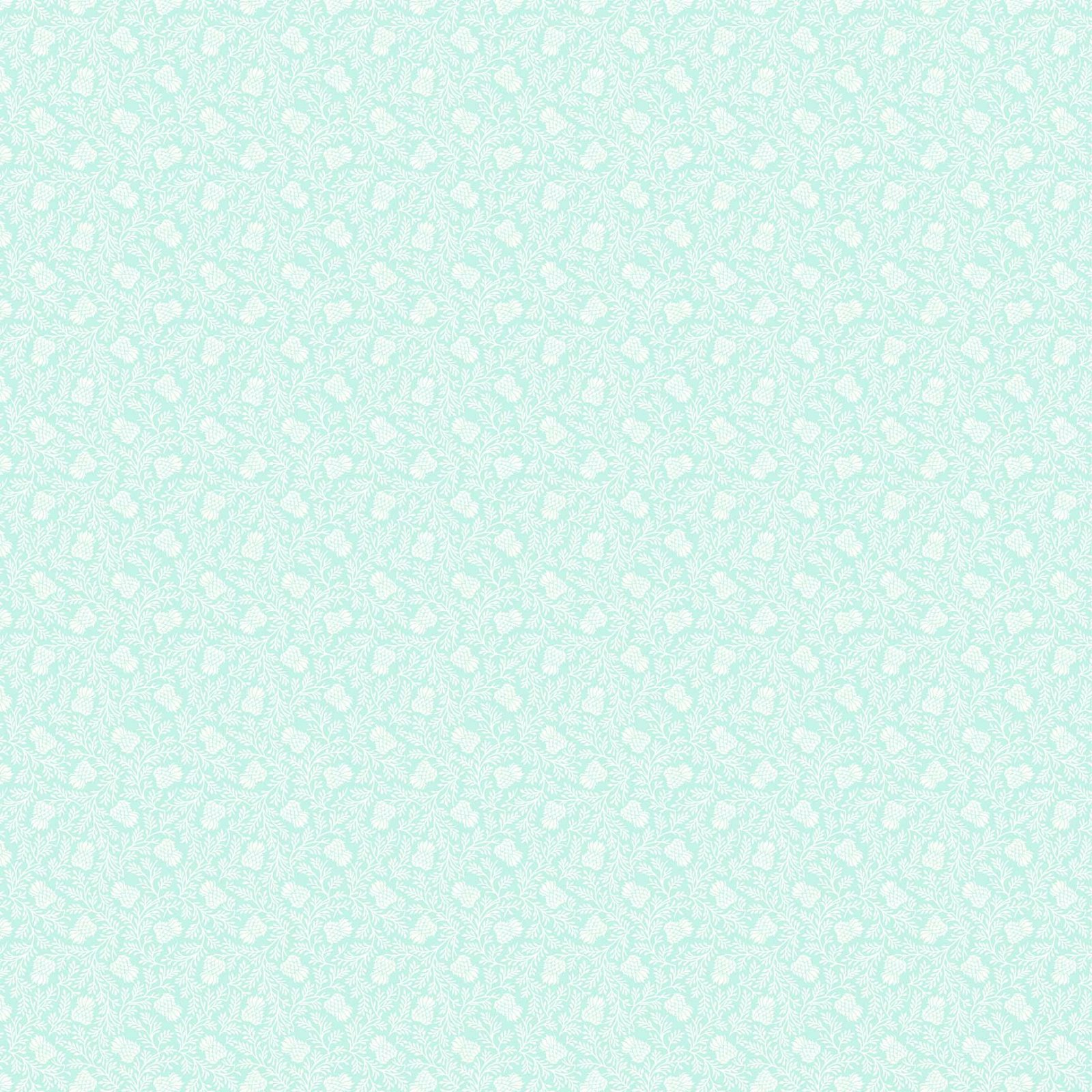 STAG AND THISTLE LIGHT TURQUOISE 23309-62