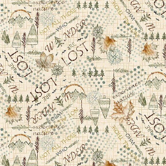 Folk Art Flannel IV 2581F-33