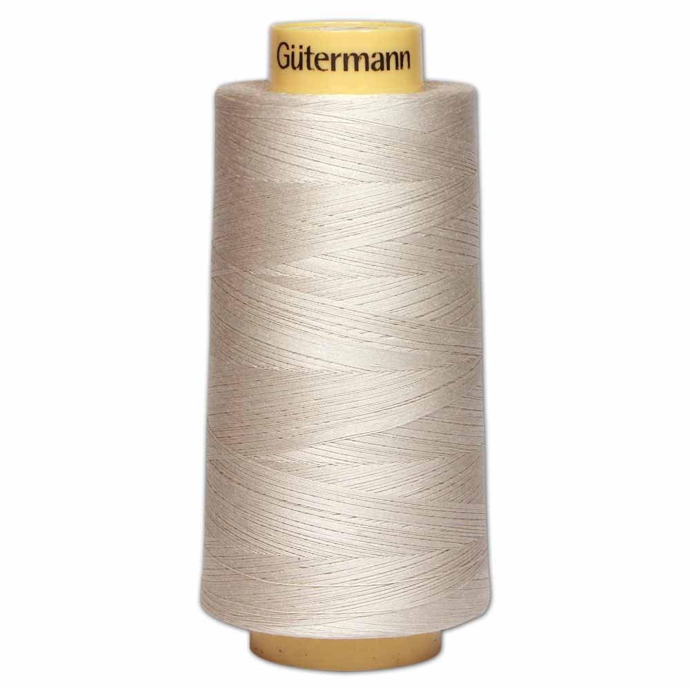 GÜTERMANN Cotton 50wt Thread 3000m - Lt. Grey (618)