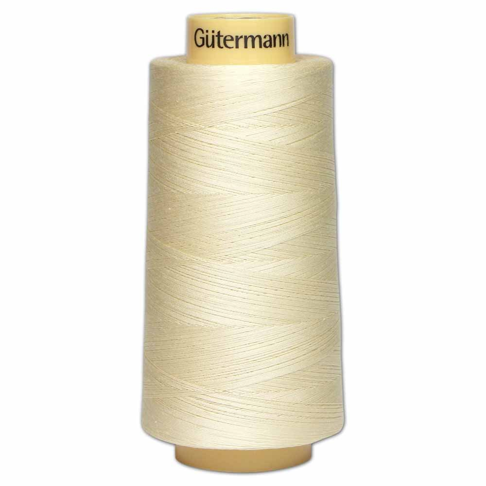 GÜTERMANN Cotton 50wt Thread 3000m - Cream (829)