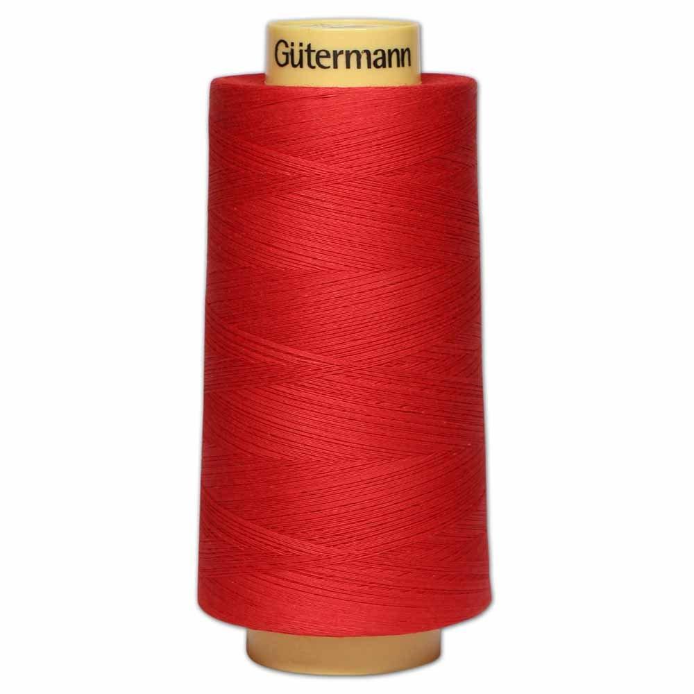 GÜTERMANN Cotton 50wt Thread 3000m - Red (2074)