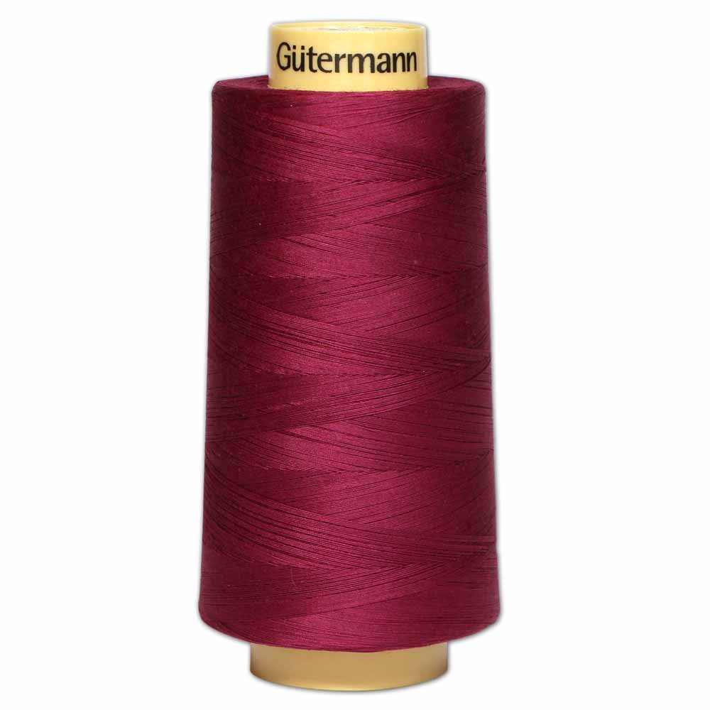 GÜTERMANN Cotton 50wt Thread 3000m - Burgundy (2833)