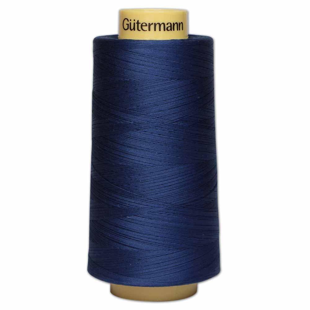 GÜTERMANN Cotton 50wt Thread 3000m - Navy (5322)
