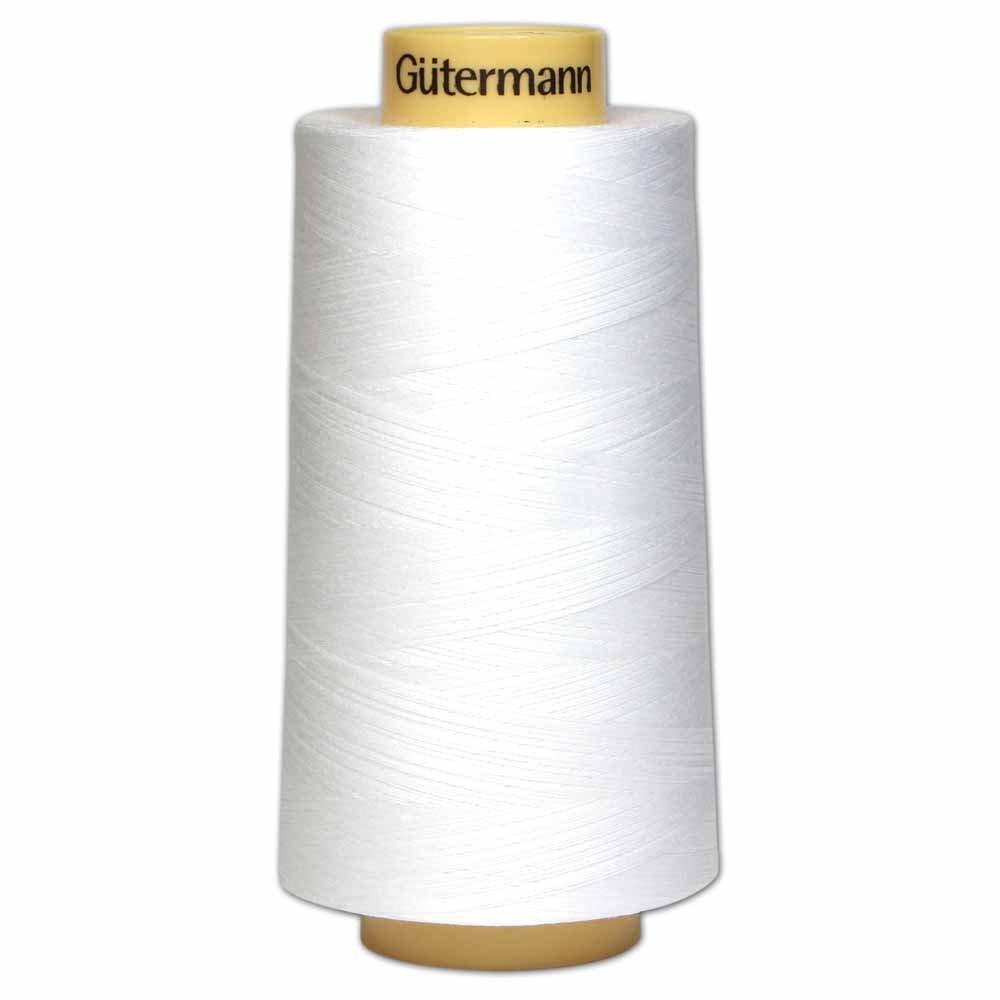 GÜTERMANN Cotton 50wt Thread 3000m - White (5709)