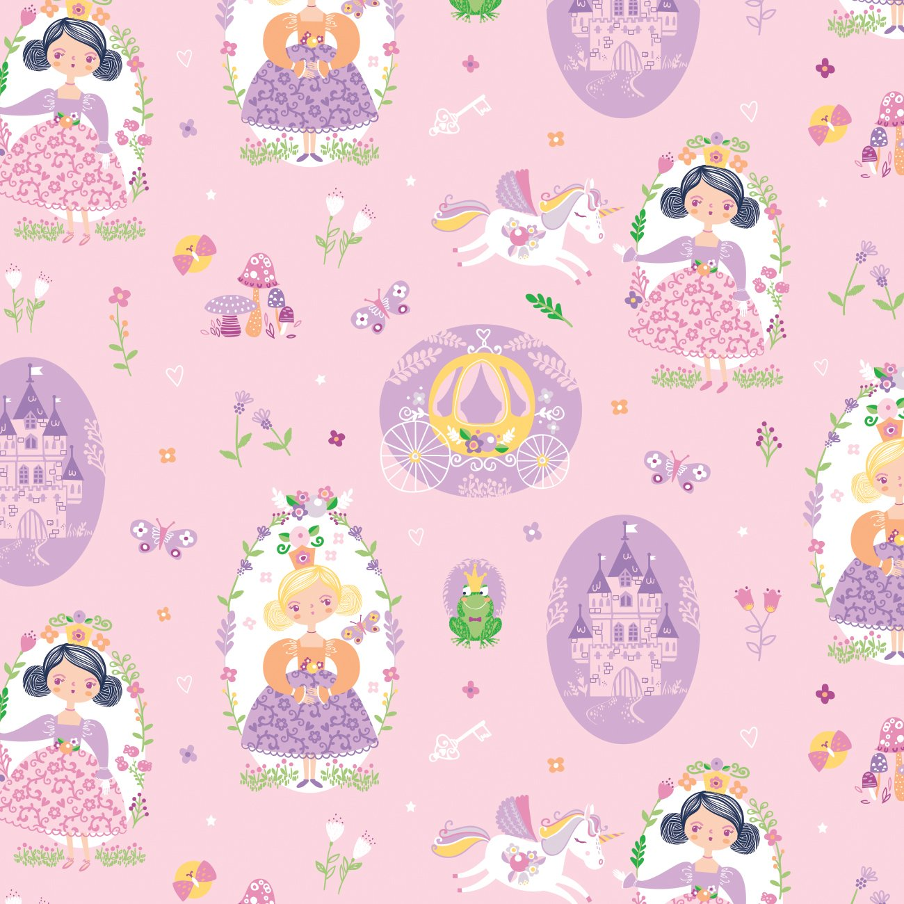 Once Upon A Time 91190201_01 Light Pink