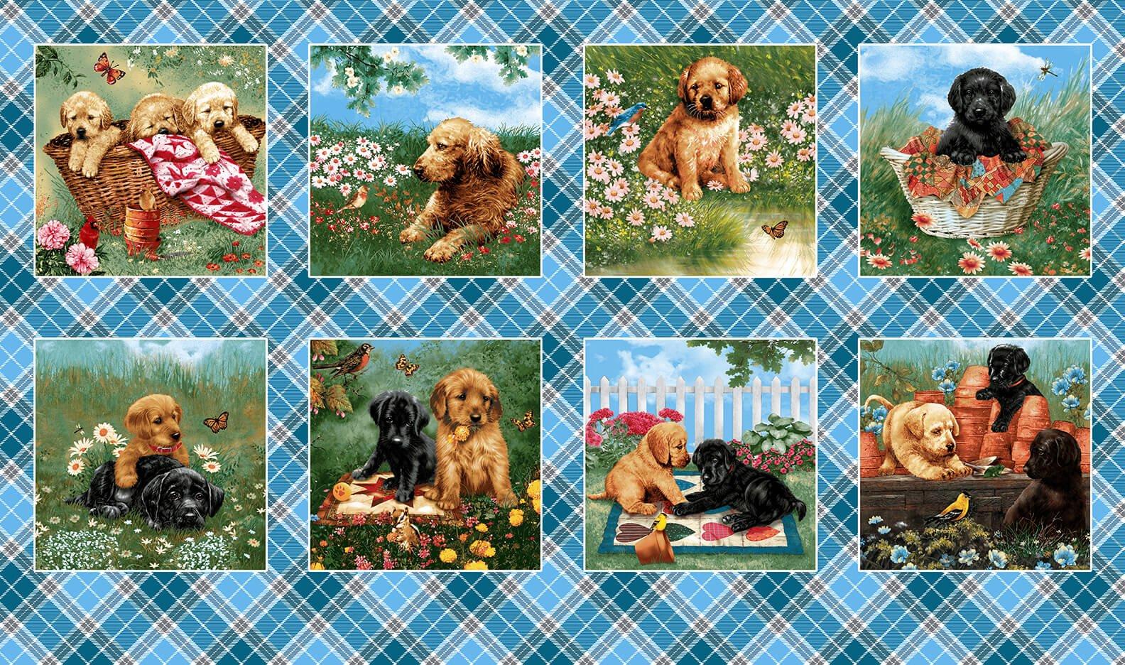 Pups in the Garden 9340-17