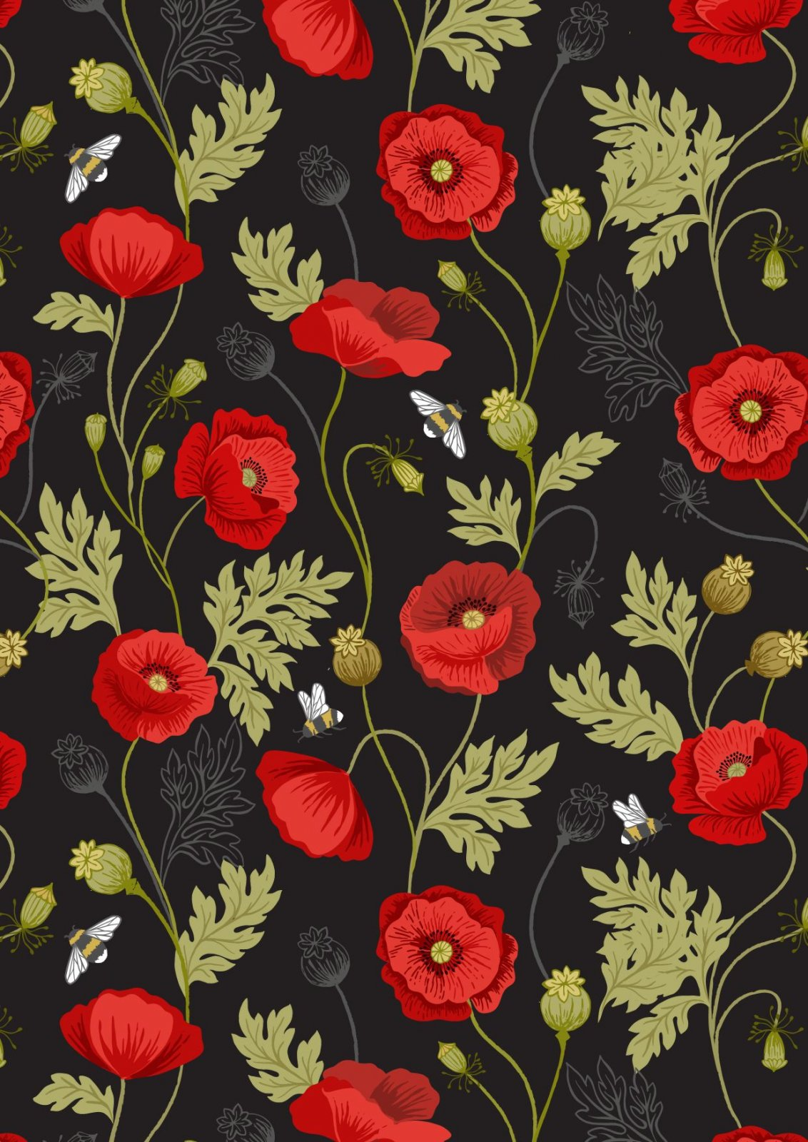 Poppies A553-3