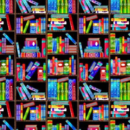 School Days Messy Bookshelves C8367