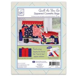 Zippity-Do-Done Cosmetic Bag - Red Zipper