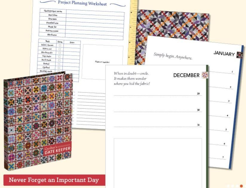 Quilters Date Keeper