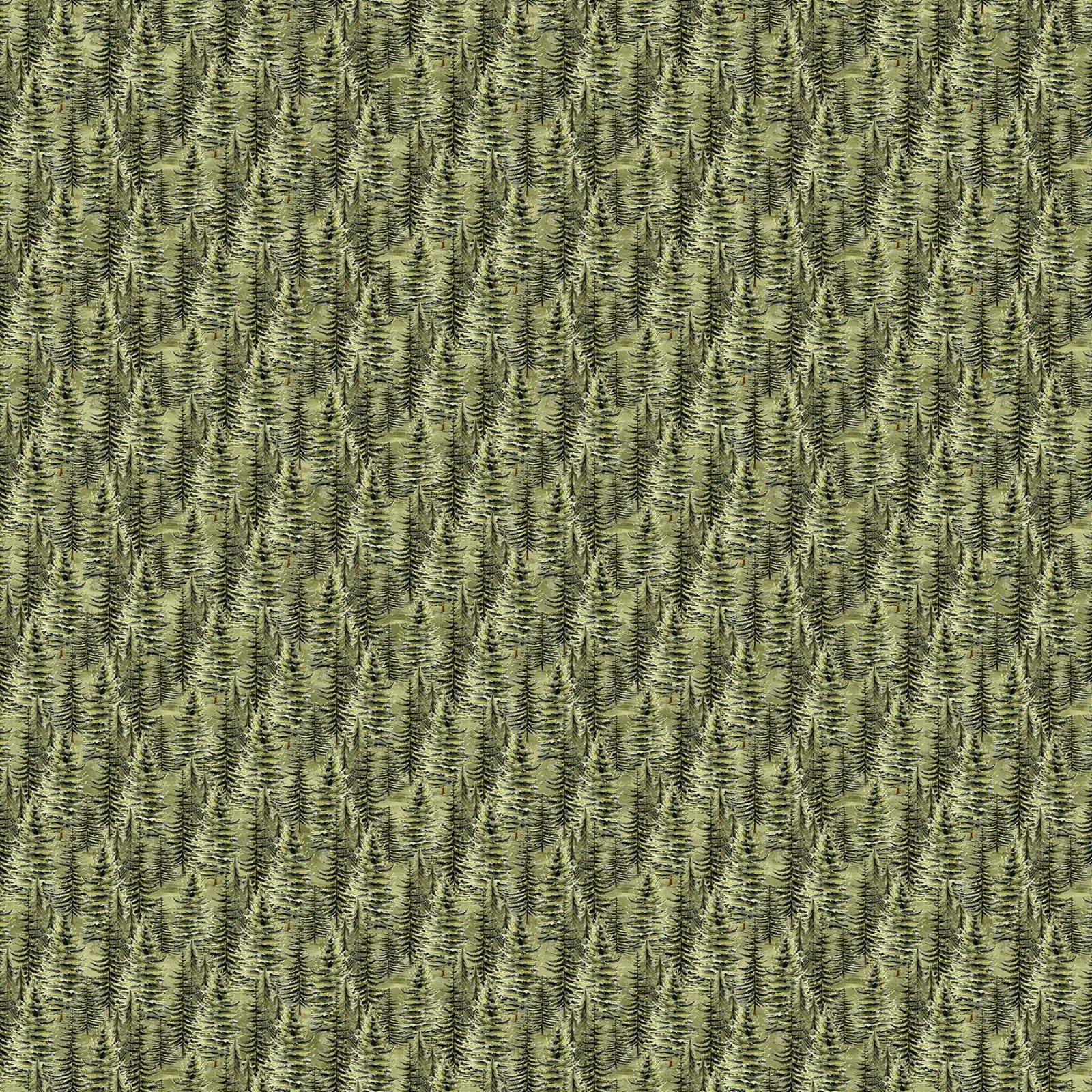 Lakeside Lodge Flannel F23557-74