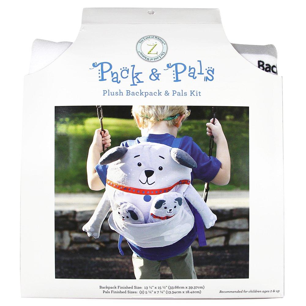 PACK & PAL Plush Backpack & Pals Kit - Dog