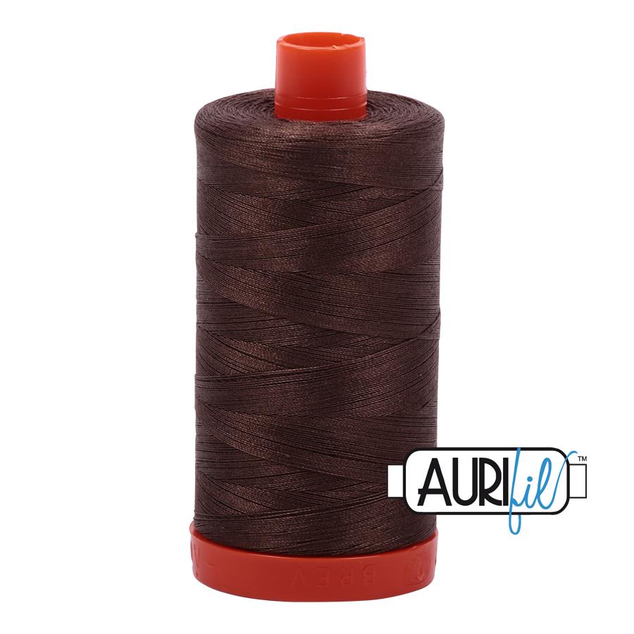 Aurifil 50wt thread 1300m - Bark (1140)