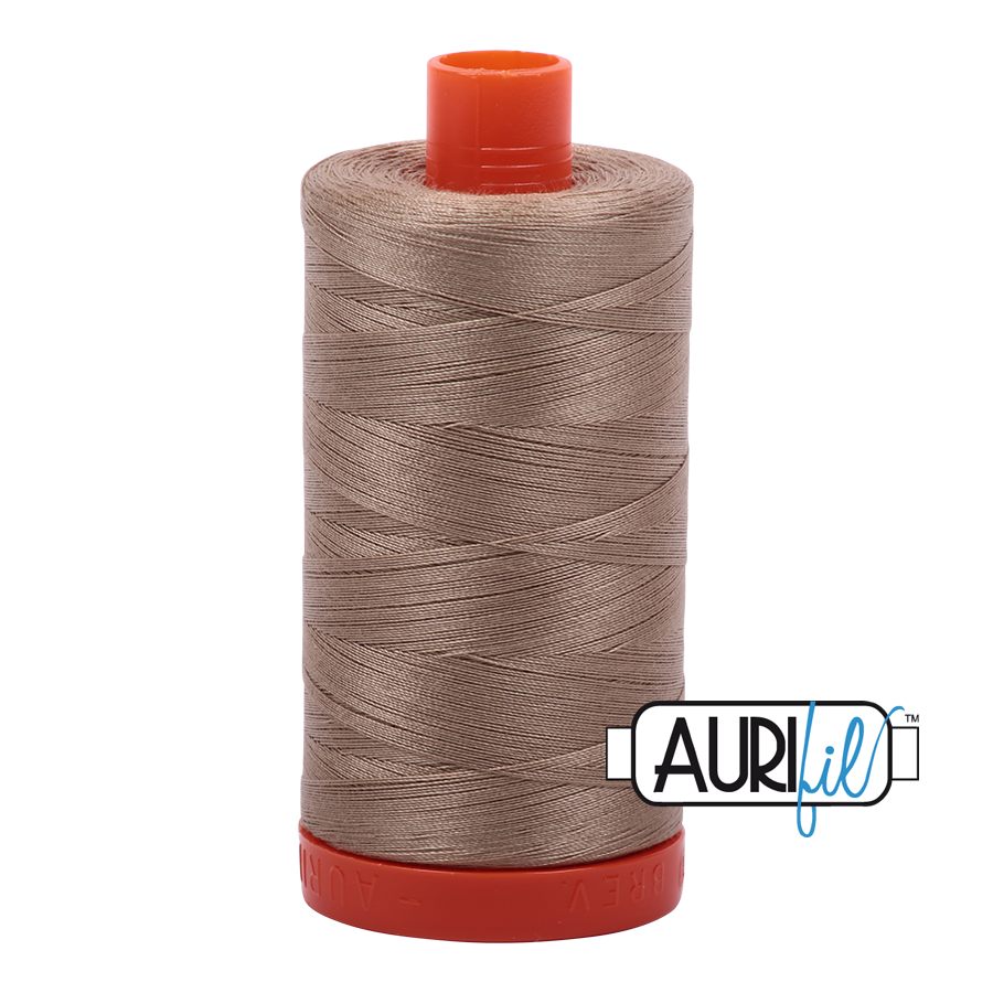 Aurifil 50wt thread 1300m - Linen Coloured (2325)