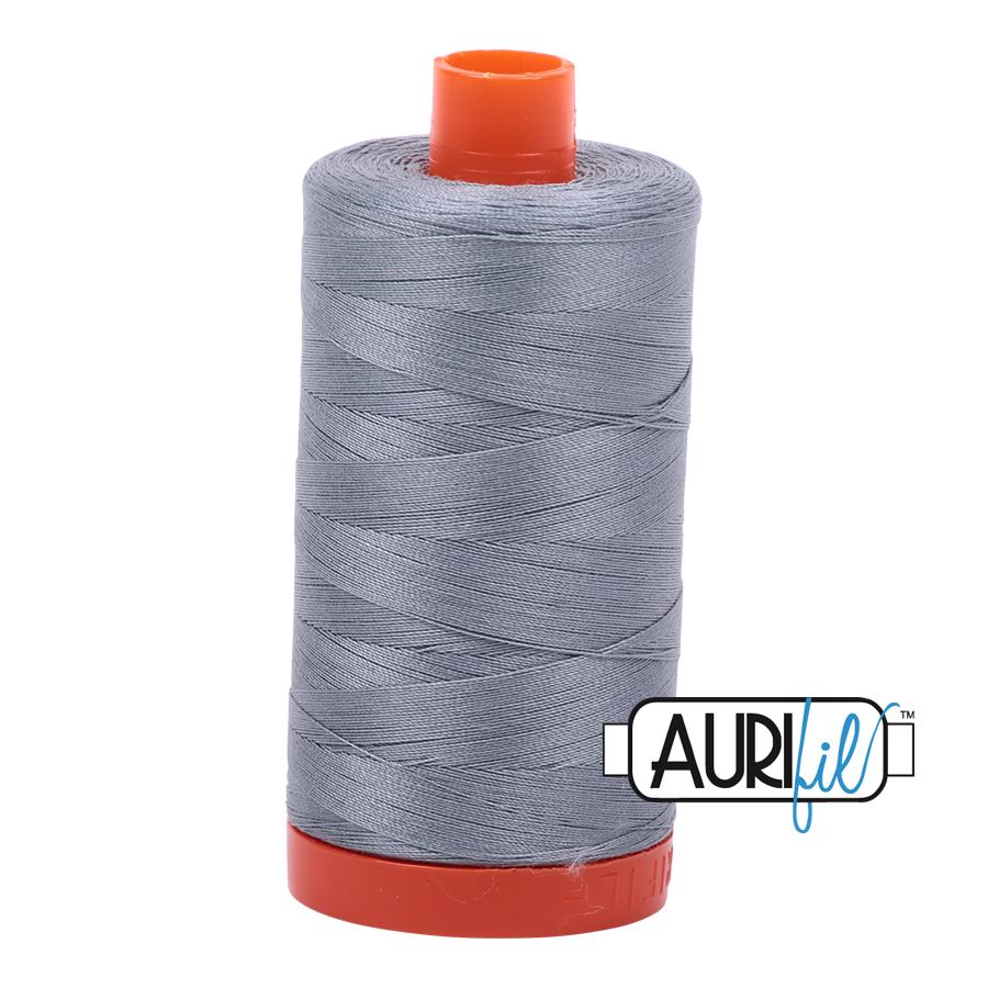 Aurifil 50wt thread 1300m - Light Blue Grey (2610)