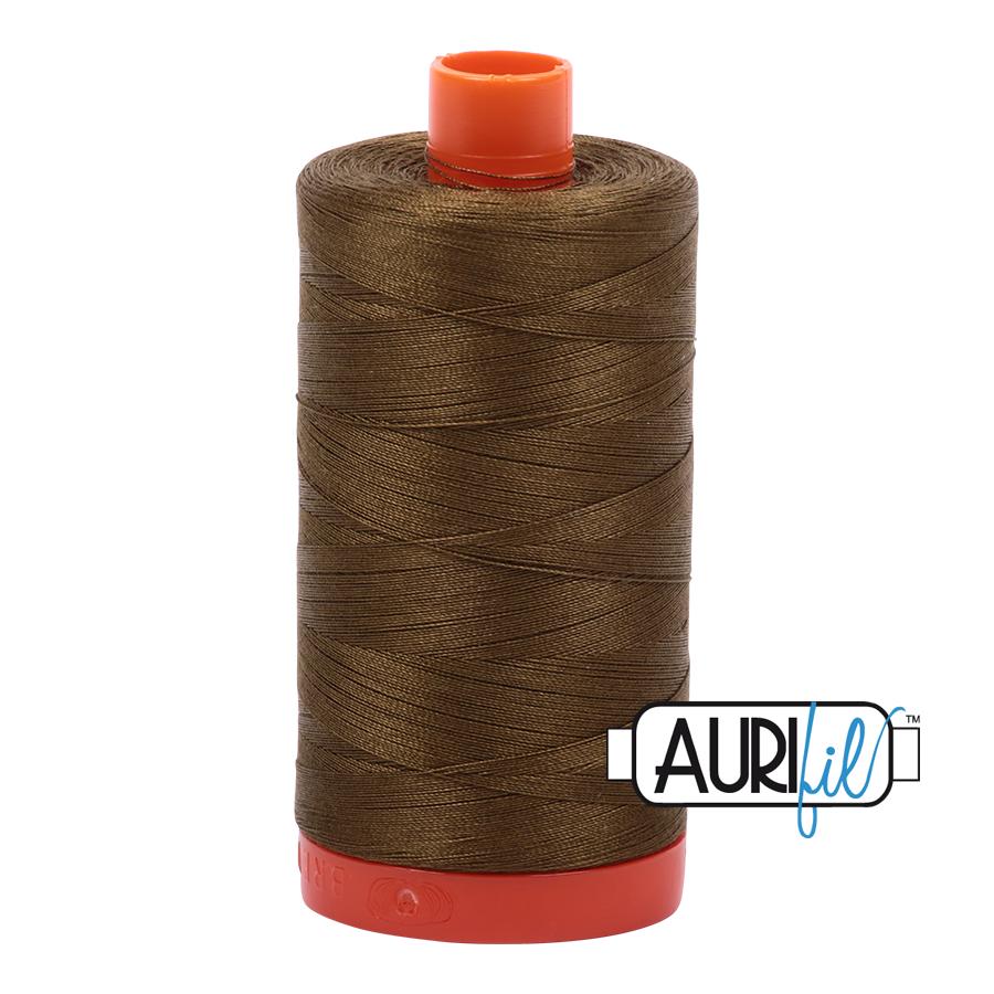 Aurifil 50wt thread 1300m - Dark Olive (4173)
