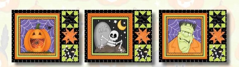 A Haunting We Will Glow Placemat Kit