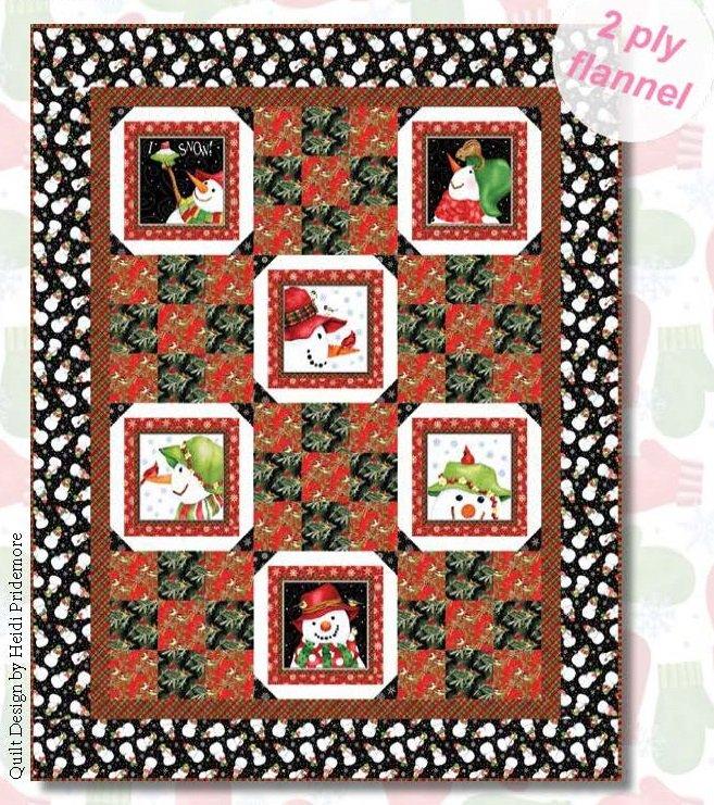 Snow Bird (Flannel) Kit