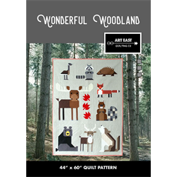 Wonderful Woodland by Art East Quilting