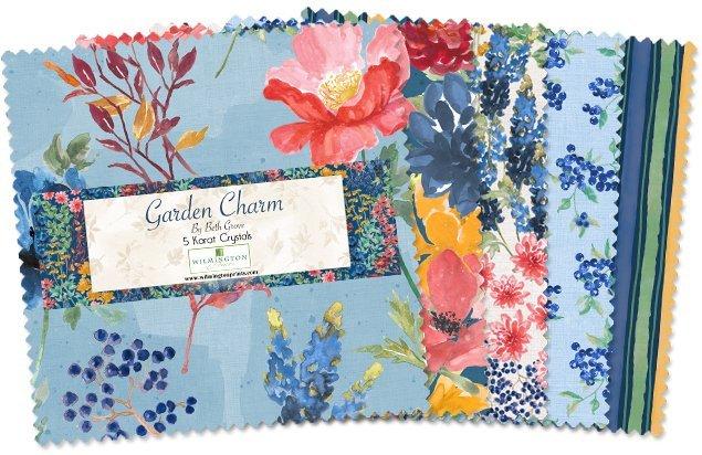 Garden Charm Precut 5 squares