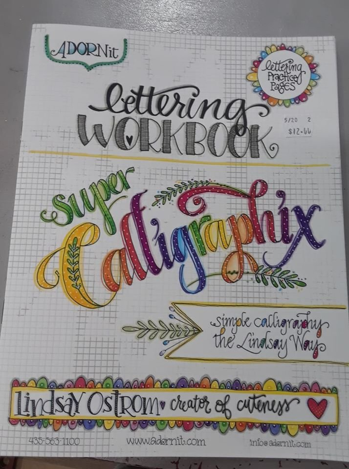 Adorn it Calligraphix by Lindsay Ostrom