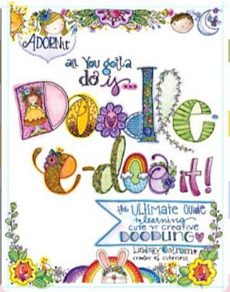 Adorn it  Doodle-e-do Book by Lindsay Ostrom