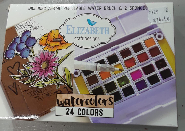Elizabeth Craft Watercolors -  24 colors