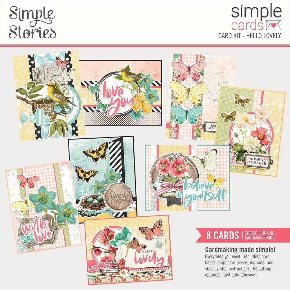 Simple Stories Simple Cards Card Kit-Hello Lovely