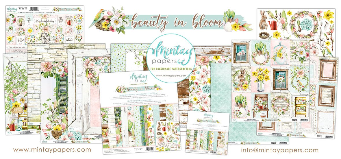 Mintay Beauty in Bloom Collection