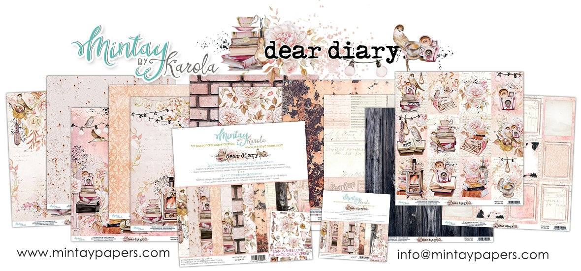 Mintay Dear Diary Collection